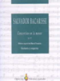 Concertino en la menor, op. 72 (partitura de orquesta)