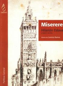 Miserere (partitura)