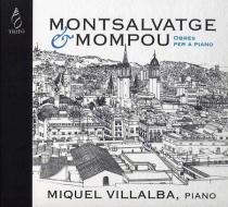 Montsalvatge & Mompou - obras para piano