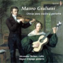 Mauro Giuliani; Obras para violín y guitarra