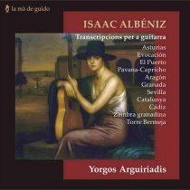 Isaac Albéniz: Trasncripcions per a guitarra