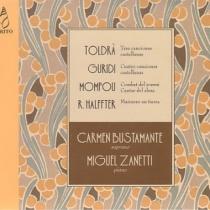 Cuatro líricos españoles (Toldrà, Guridi, Mompou y Halffter)
