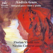 Andres Gaos - Complete works for violin and piano