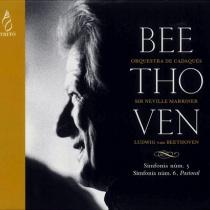 Beethoven:Simfonies 5 i 6 / Marriner