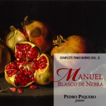 Blasco de Nebra. Complete piano works vol. 2