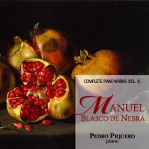Blasco de Nebra. Complete piano works vol. 2