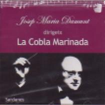 Josep Maria Damunt dirigeix la Cobla Marinada