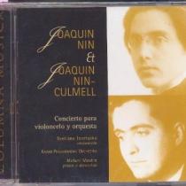 Joaquín Nin & Joaquín Nin-Culmell. Concert per a violoncel i orquestra