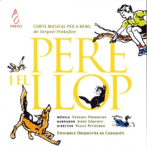 Pere i el llop (en catalán)