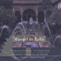 Manuel de Falla. Festival Internacional de Música y Danza de Granada vol. 3
