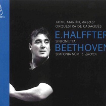 Sinfonietta de Ernesto Halffter - Sinfonía nº3 Eroica de L.v.Beethoven, dirigido por Jaime Martín