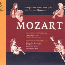 MOZART: Simfonies concertants