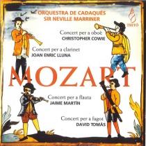 MOZART: 4 Concertos