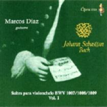 Suites para violonchelo BWV 1007/1008/1009