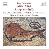 Arriaga: Sinfonía en Re