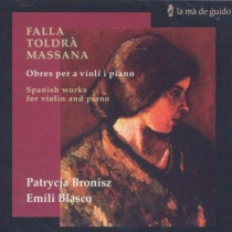 Spanish works for violin and piano
