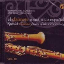 El clarinete romántico español vol. III