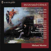 En un saló català, 19th century catalan music for the piano