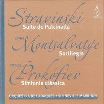 Stravinski / Montsalvatge / Prokofiev: Suite from Pulcinella - Sortilegis - Classical Symphony