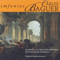 Symphonies by Carles Baguer