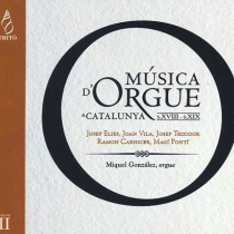 Música d'orgue a Catalunya s.XVIII - s. XIX vol.II