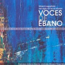 Música Española del siglo XX en el mundo. Voces de Ébano