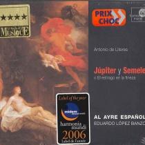 Júpiter y Semele