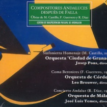 Andalusian Composers after Falla (1951-1996)