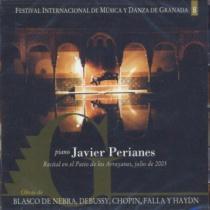 Javier Peranes. Festival Internacional de Música y Danza de Granada vol.8