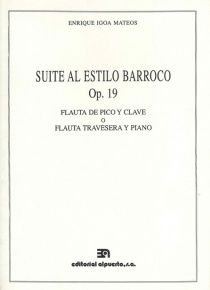 Suite al estilo barroco op. 19