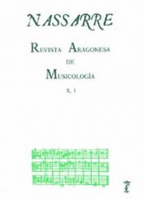 Nassarre. Revista Aragonesa de Musicología, X, 1
