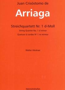 String Quartet nº 1 in d minor (parts)