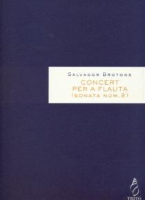 Concierto para flauta, op.72 (Sonata nº 2)