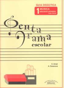 Pentagrama Escolar 1 Professor (Cicle Inicial Primaria), by C. / Casanova, A. Amat