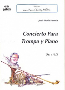 Concert for horn and piano Op. 113/2