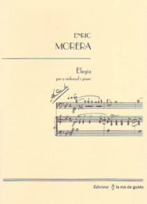 Elegia, for violoncello and piano