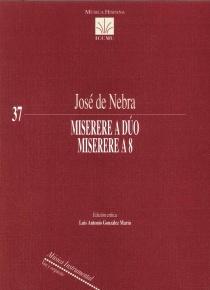 Miserere a dúo - Miserere a 8