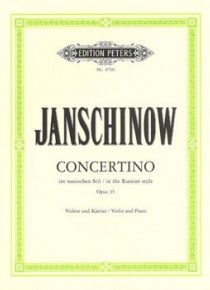 Concertino op. 35 in the Russian style