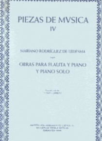 Works for flute and piano and piano solo