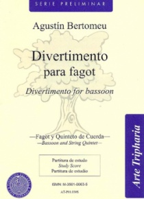 Divertimento for bassoon