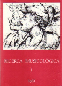 Musicological Research I