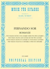 Romanze op. posth. für Violine und Gitarre