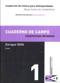Cuadernos de Música para discapacidades vol 1 - Cuaderno de campo