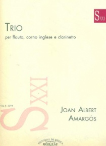 Trio per flauto, corno inglese e clarinetto