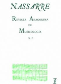 Nassarre. Revista Aragonesa de Musicología, X, 2