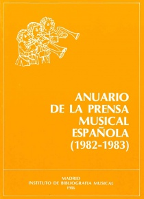 Anuario de la prensa musical española 1982 - 1983