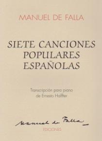 Siete canciones populares españolas (piano)