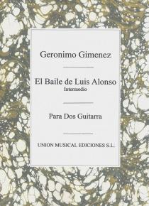 El baile de Luis Alonso - Intermedio (2 guit)