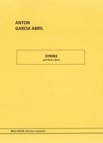 Syrinx per a flauta i piano