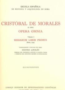Opera Omnia vol. I (Missarum liber primus)
